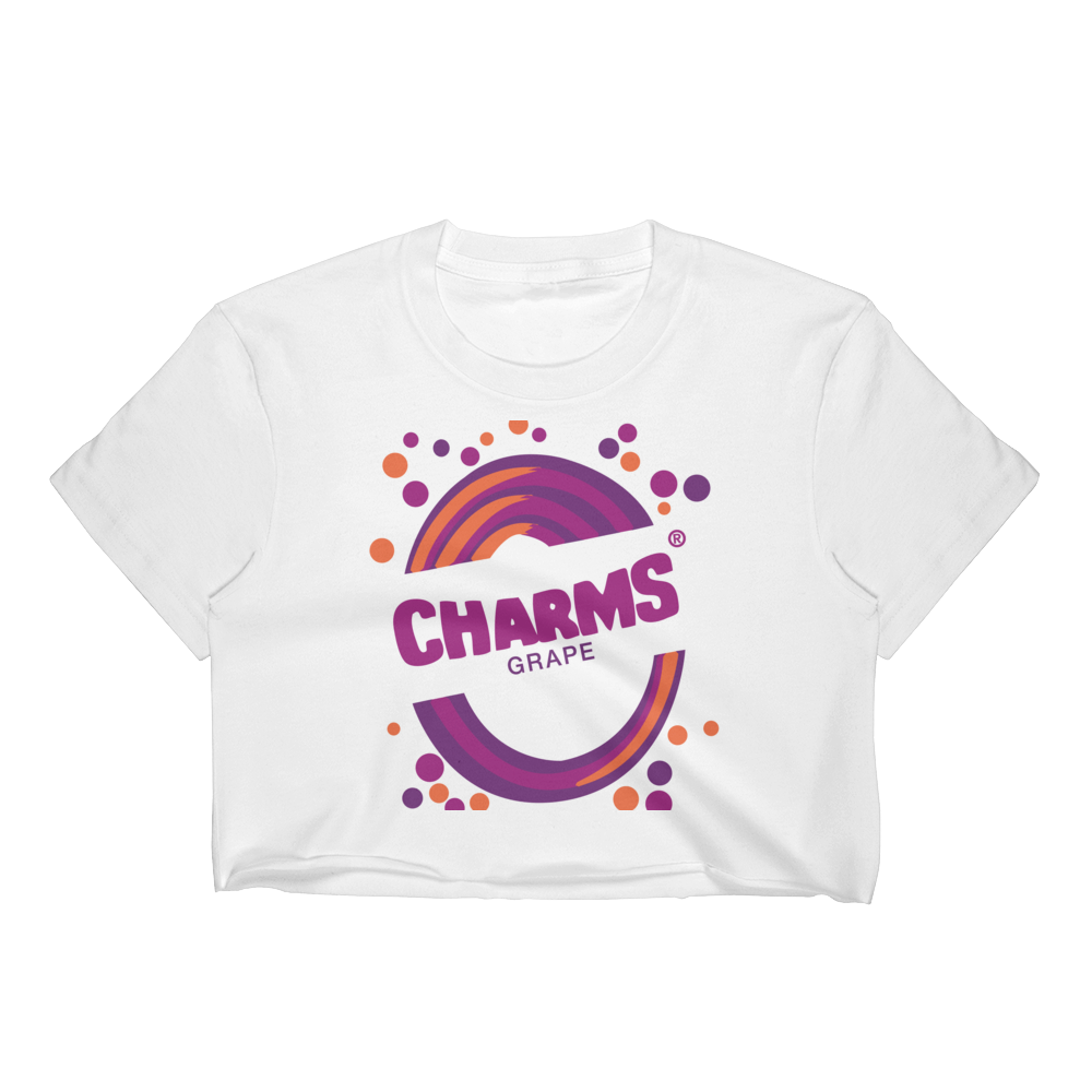 Shop and Buy Socially Conscious and Eco-Friendly Clothes Charms Blow Pop Crop Top