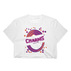 1990's Charms Blow Pop - Grape | Crop Top for Women