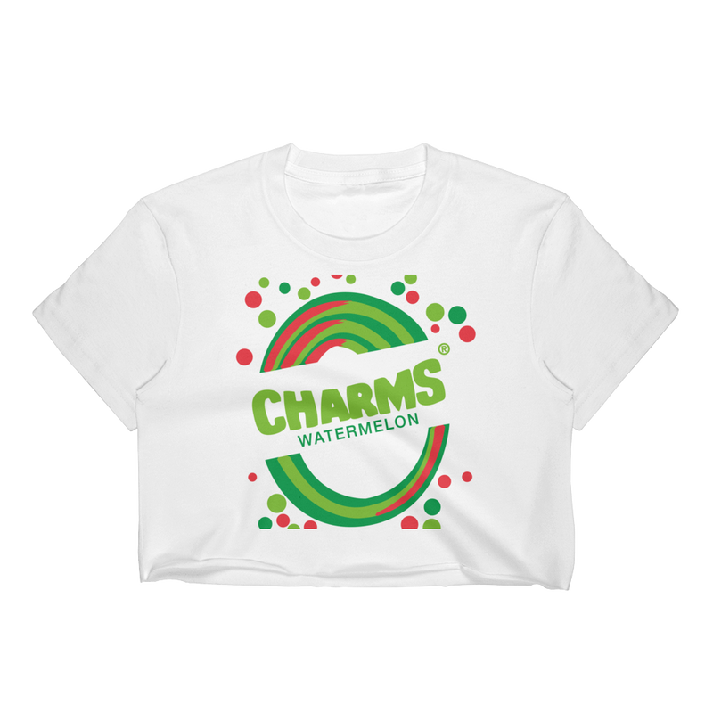 1990's Charms Blow Pop - Watermelon | Crop Top for Women