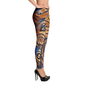 Fine Art Abstract Leggings for Women