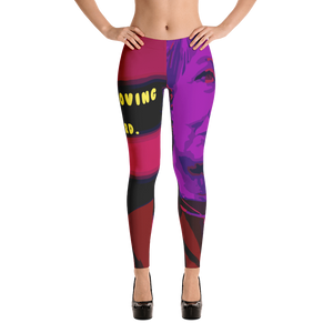 Hillary Clinton Political Leggings for Women