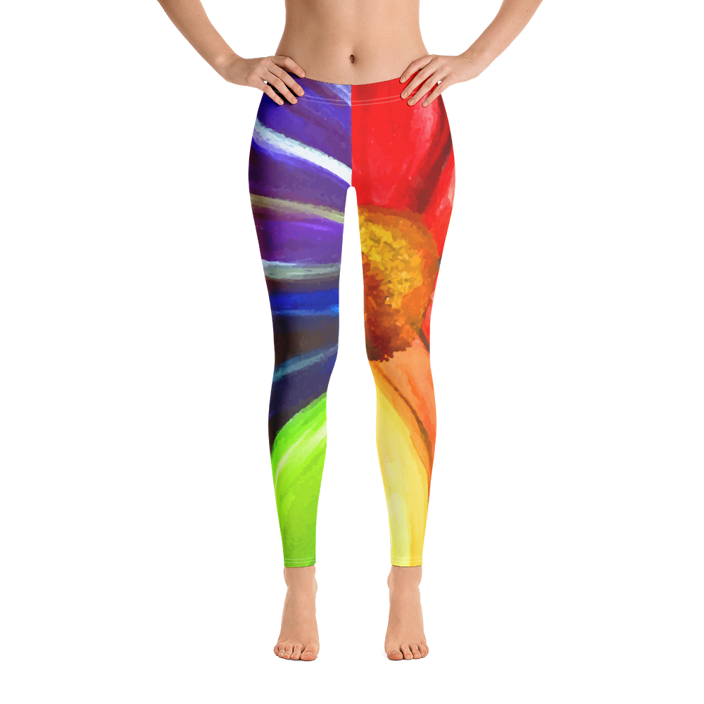 Rainbow Flower | Leggings