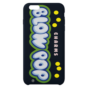 Charms Blow Pop i Blue Raspberry i iPhone Case
