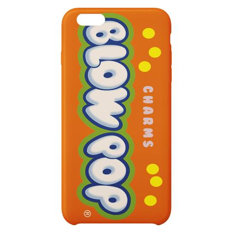 Charms Blow Pop I Orange iPhone Case