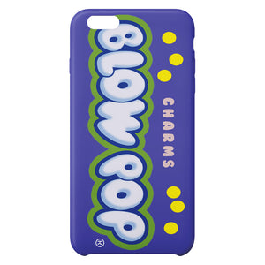 Charms Blow Pop i Grape i iPhone Case