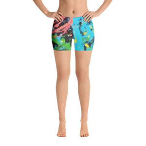 Shop and Buy Spandex Shorts