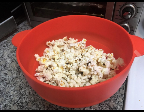 ecosifu silicone popcorn maker for netflix movies