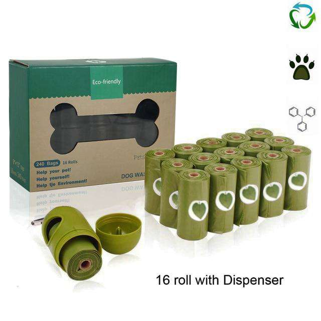 Eco-Friendly Biodegradable Dog Poop Bags Compostable Poop Bags - Ecosifu
