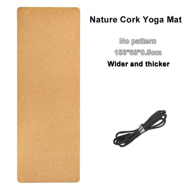 Eco-Friendly Natural Cork Yoga Mat - Ecosifu