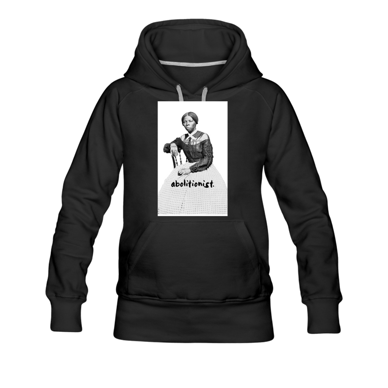 """Harriett"" Women's Premium Hoodie - black"