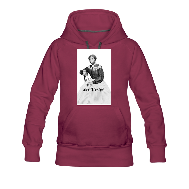 """Harriett"" Women's Premium Hoodie - burgundy"