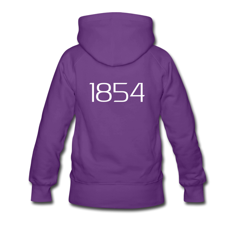 """Harriett"" Women's Premium Hoodie - purple"