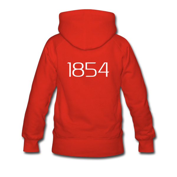"""Harriett"" Women's Premium Hoodie - red"