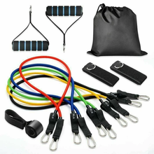 Load image into Gallery viewer, Resist-it 11 Pcs/Set Resistance Band set (Home Gym)
