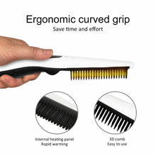 Load image into Gallery viewer, BEARD & HAIR STRAIGHTENER COMB FOR MEN