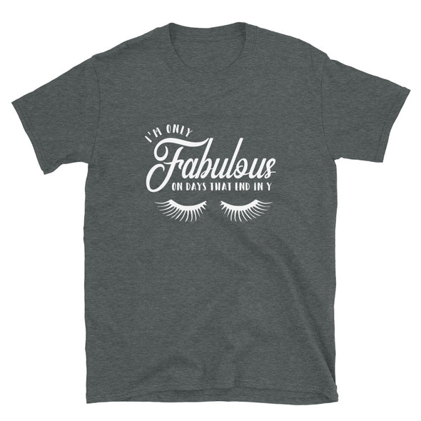 I am Only Fabulous on Days that End in Y Unisex T-Shirt
