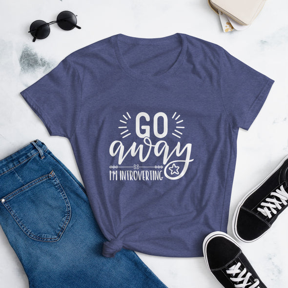 Go Away I'M Introverting t-shirt