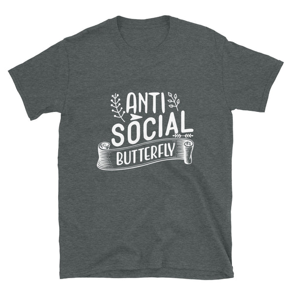 Anti Social Butterfly Unisex T-Shirt
