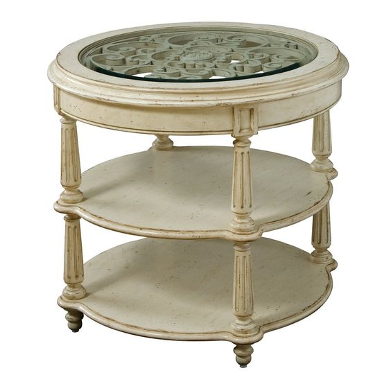 A.R.T. Home Furniture - Provenance Round Lamp Table