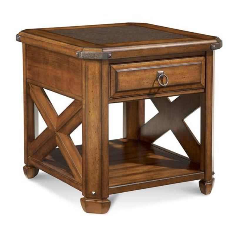 A R T Furniture - Deep River Drawer End Table