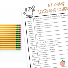 Load image into Gallery viewer, Schedules and Activity Choice Boards for Learning at Home