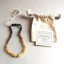 Load image into Gallery viewer, Raw Ombre Amber Necklace