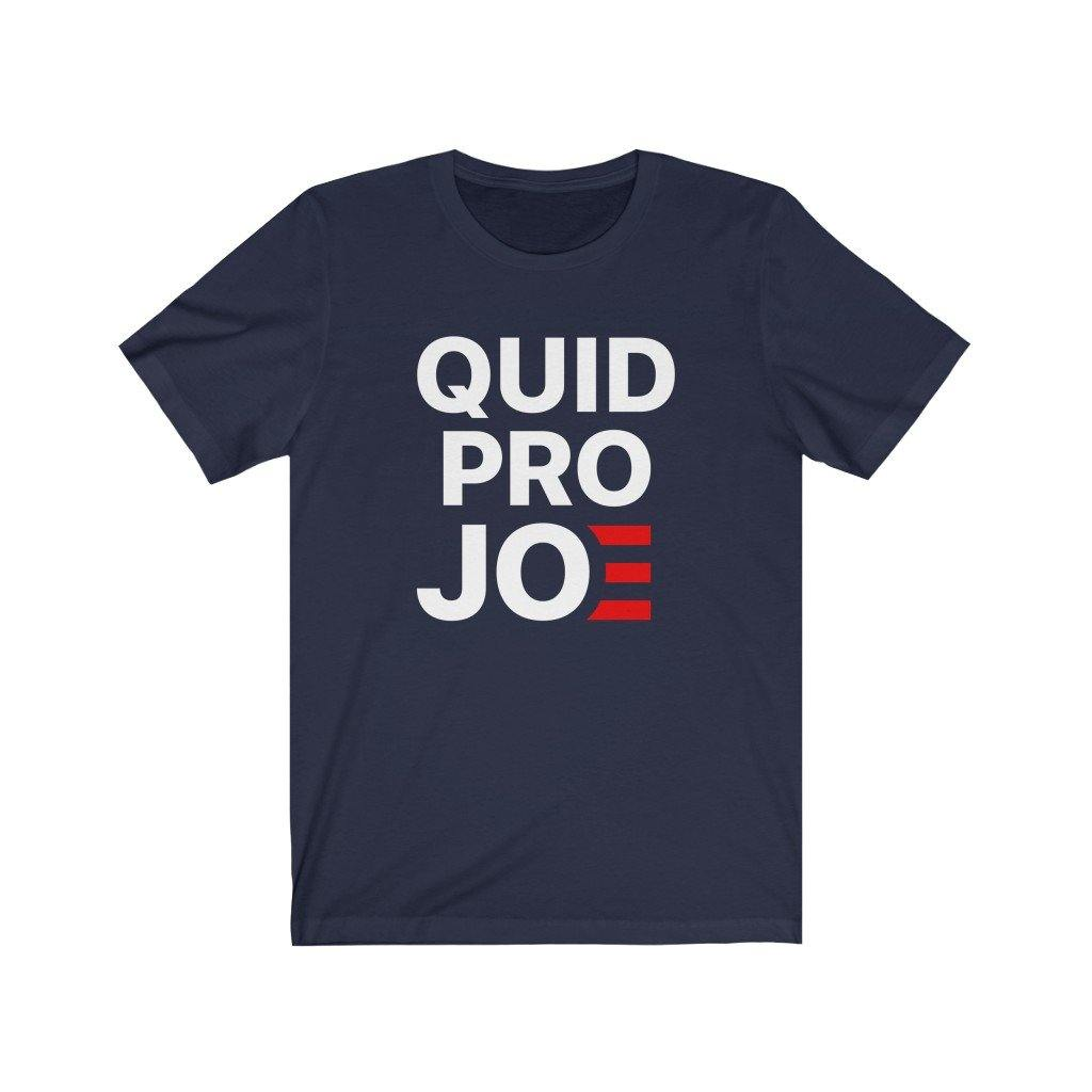 Quid Pro Joe Anti Joe Biden Funny Parody by Best Trump Shirts