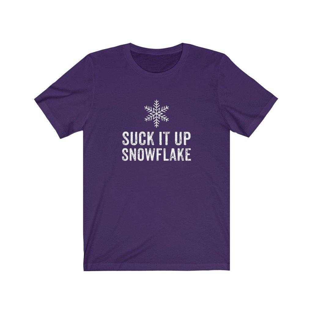 Suck It Up Snowflake Funny Pro-Trump T-Shirt by Best Trump Shirts