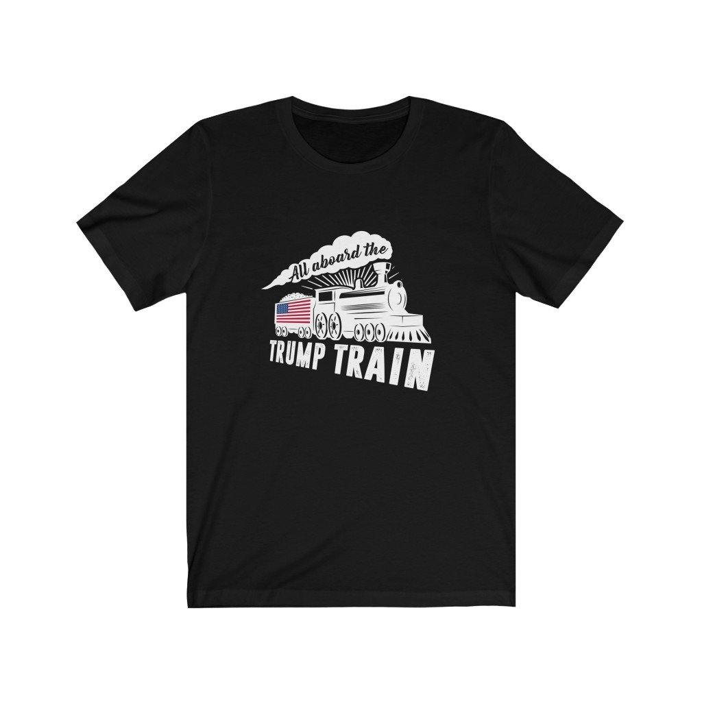 All Aboard the Trump Train T-Shirt by Best Trump Shirts