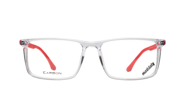 Men eyeglasses Fermi C01 Mad in Italy front