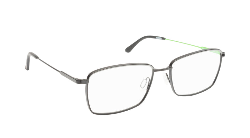 Men eyeglasses Iseo C01 Mad in Italy