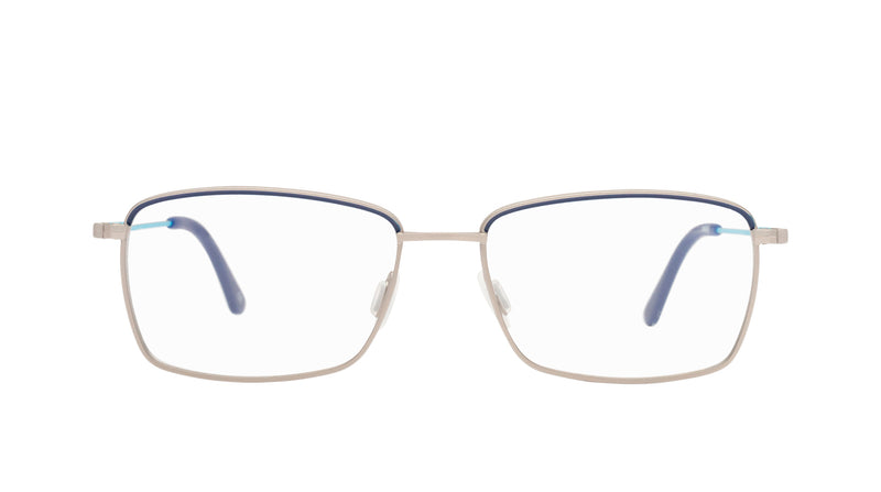 Men eyeglasses Iseo C03 Mad in Italy front