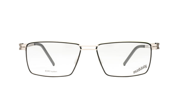 Men eyeglasses Ruota N01 Mad in Italy front