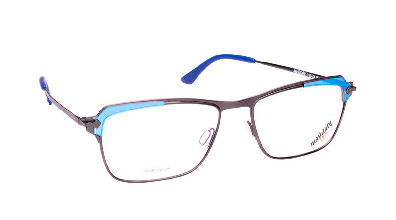 Men eyeglasses Teseo B03 Mad in Italy