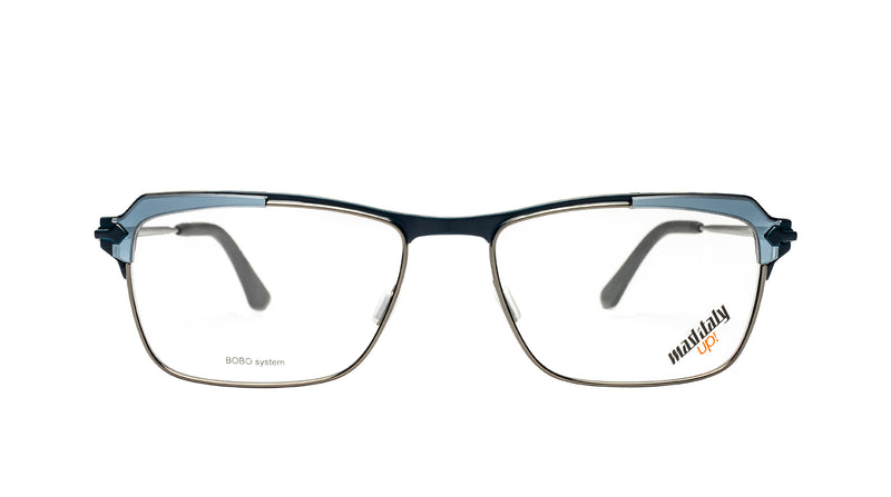 Men eyeglasses Teseo N01 Mad in Italy front