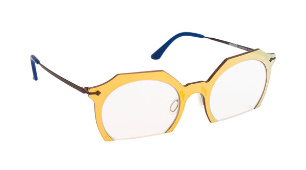 Unisex eyeglasses Zafferano C02 Mad in Italy