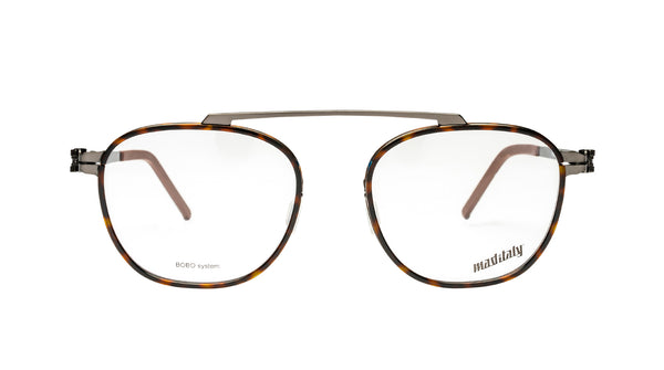 Unisex eyeglasses Trottola M01 Mad in Italy front