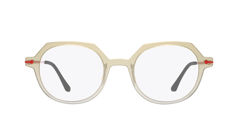 Unisex eyeglasses Alloro C01 Mad in Italy front