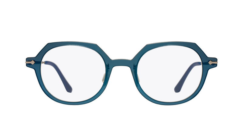 Unisex eyeglasses Alloro C02 Mad in Italy front