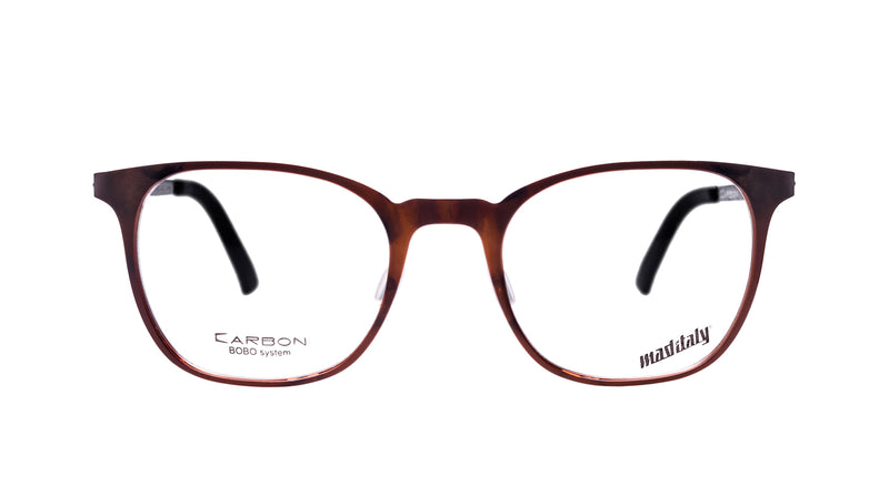 Unisex eyeglasses Bucatini A02 Mad in Italy front
