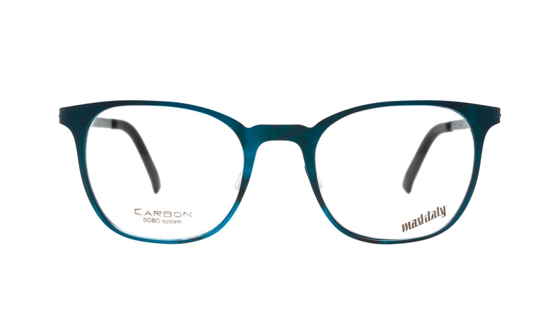 Unisex eyeglasses Bucatini B03 Mad in Italy front