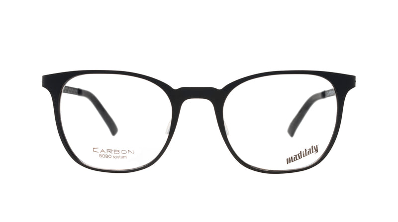 Unisex eyeglasses Bucatini N01 Mad in Italy front