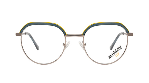 Unisex eyeglasses D'Annunzio C01 Mad in Italy front