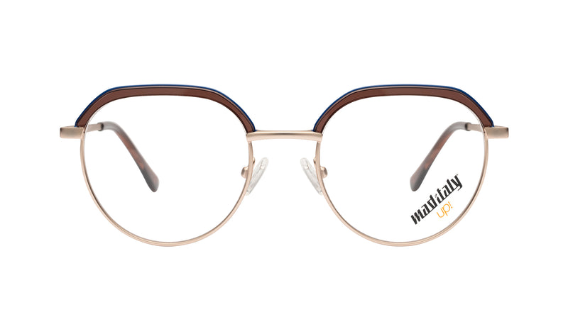 Unisex eyeglasses D'Annunzio C02 Mad in Italy front