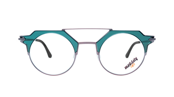 Unisex eyeglasses Orlando Z01 Mad in Italy front