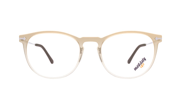 Unisex eyeglasses Paride M01 Mad in Italy front