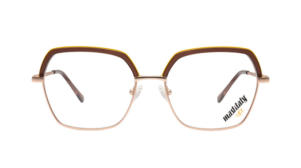 Unisex eyeglasses Pirandello C01 Mad in Italy front