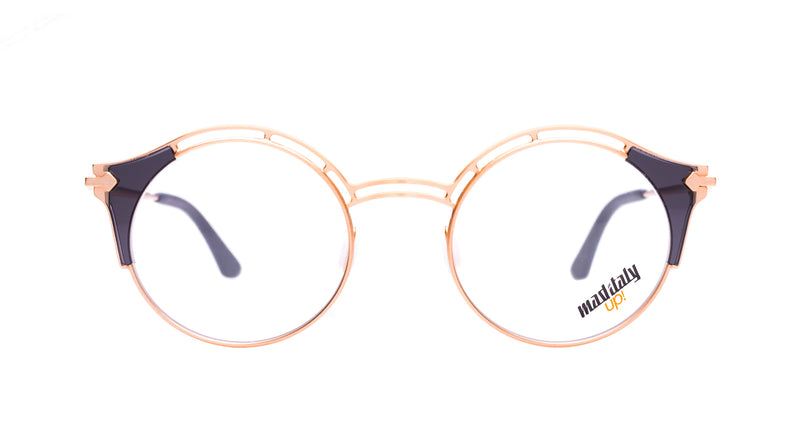 Unisex eyeglasses Rigoletto G02 Mad in Italy front