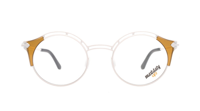 Unisex eyeglasses Rigoletto M03 Mad in Italy front