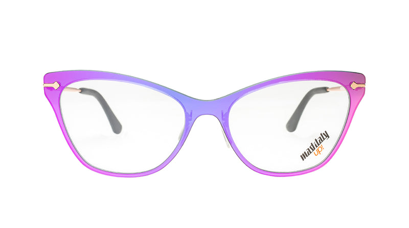 Women eyeglasses Butterfly H06 Mad in Italy front